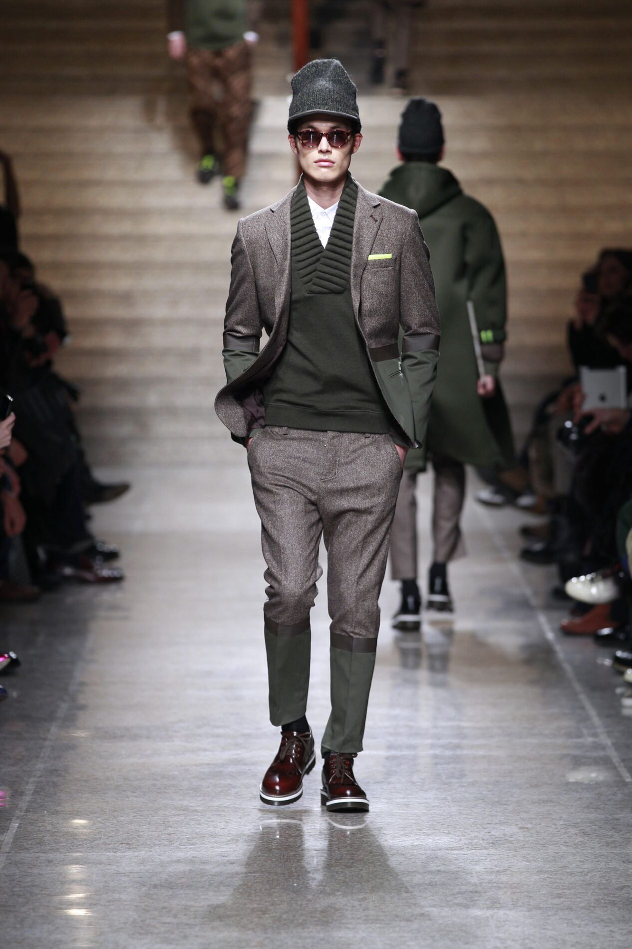 Fall 2014 Men Fashion Show Frankie Morello