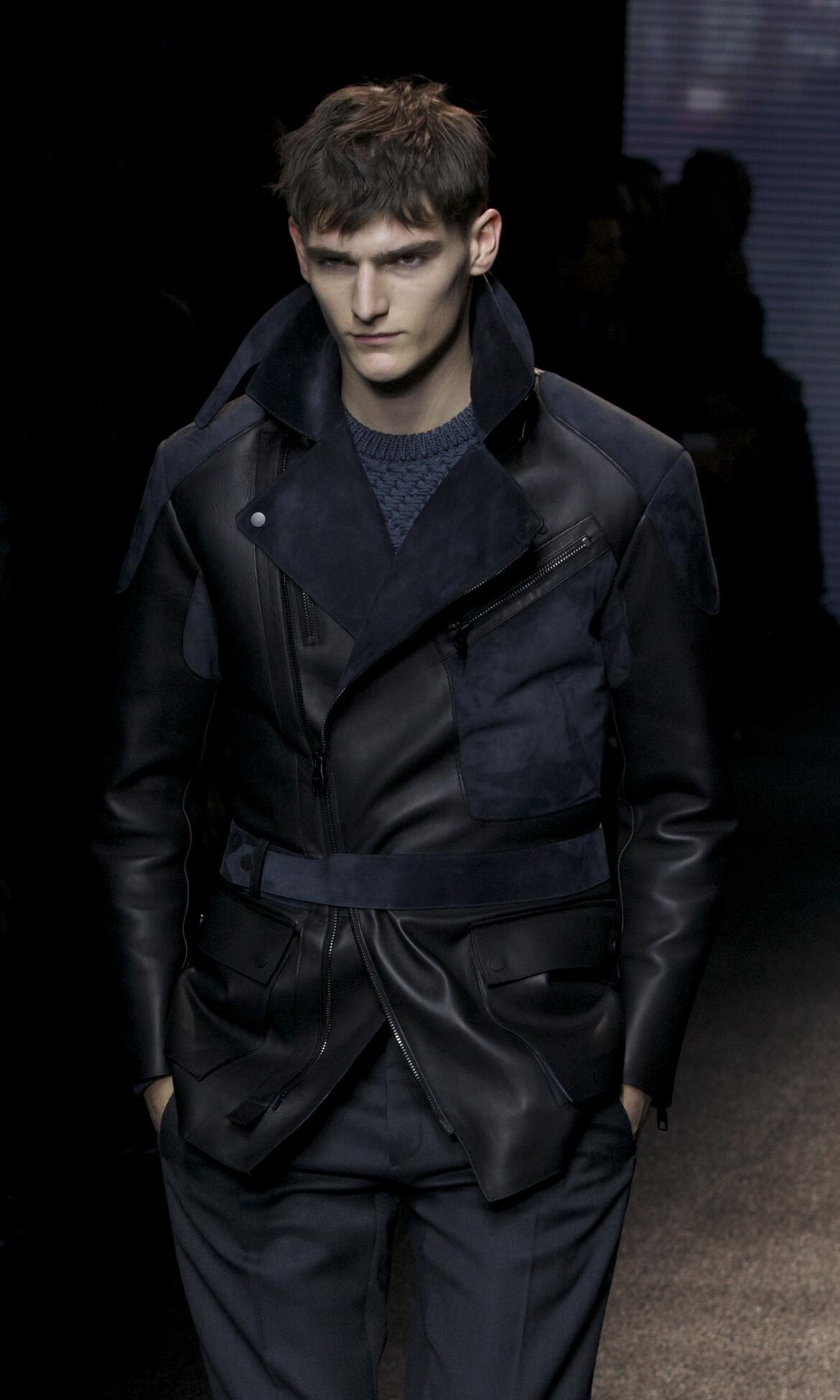 Fall 2014 Men Fashion Show Salvatore Ferragamo