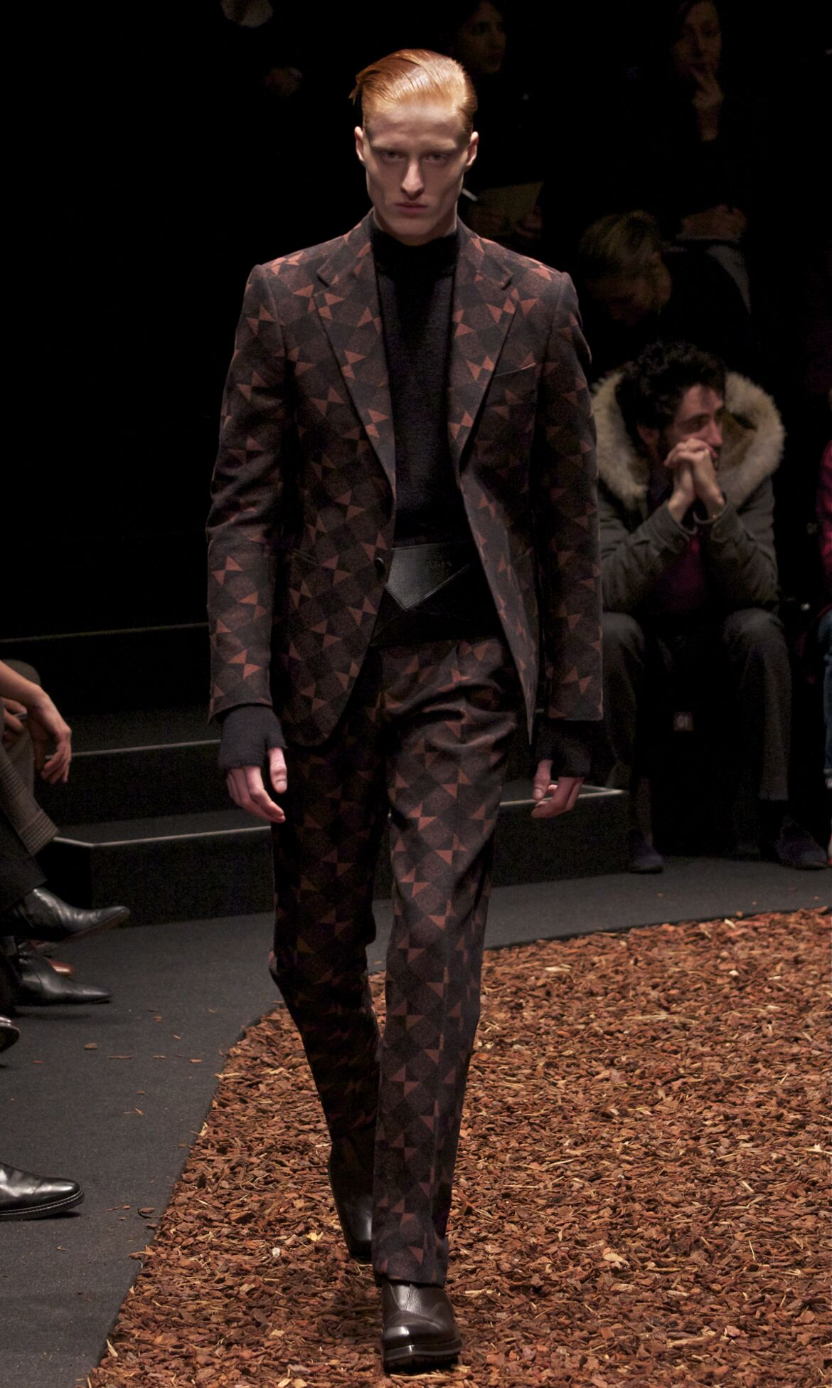 Fall 2014 Men Fashion Show Z Zegna