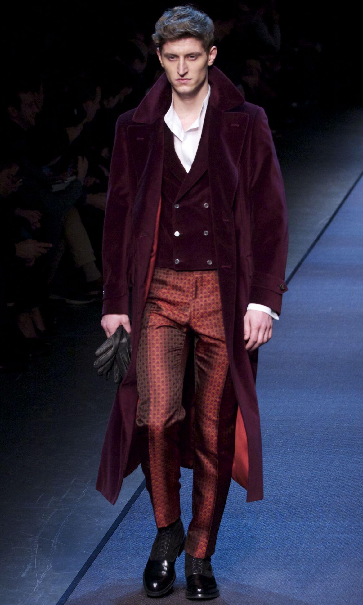 Fall Canali Fashion Man