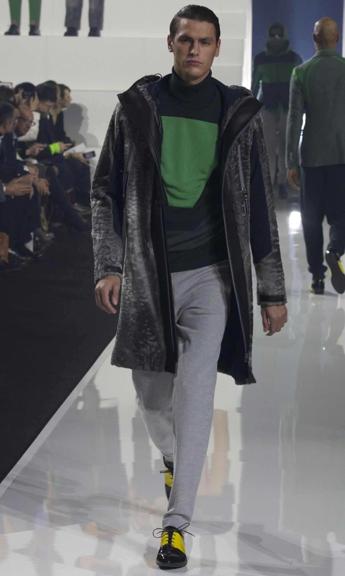 Fall Fashion 2013 Dirk Bikkembergs