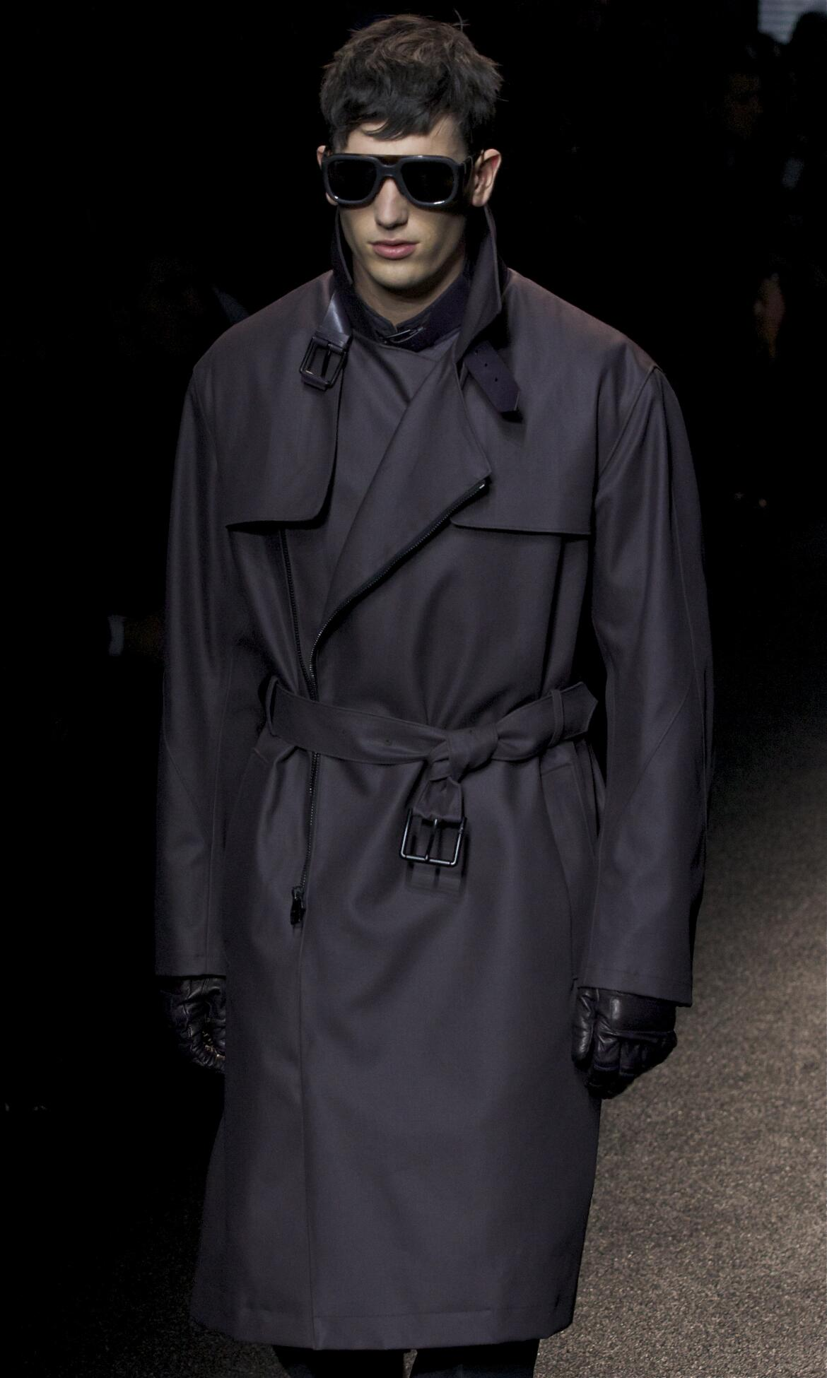 Fall Salvatore Ferragamo Fashion Man