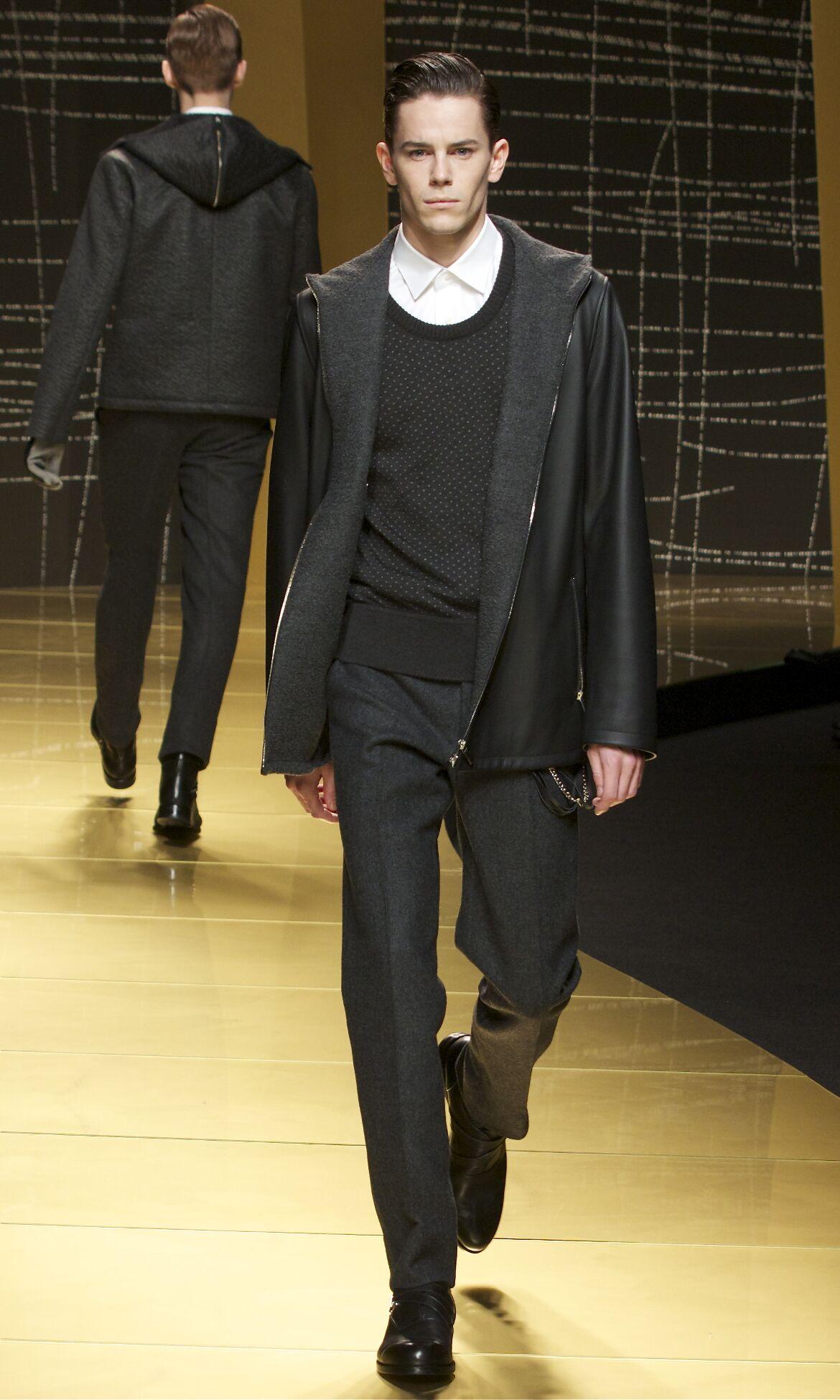 Fall Winter 2013 14 Fashion Men's Collection Ermenegildo Zegna