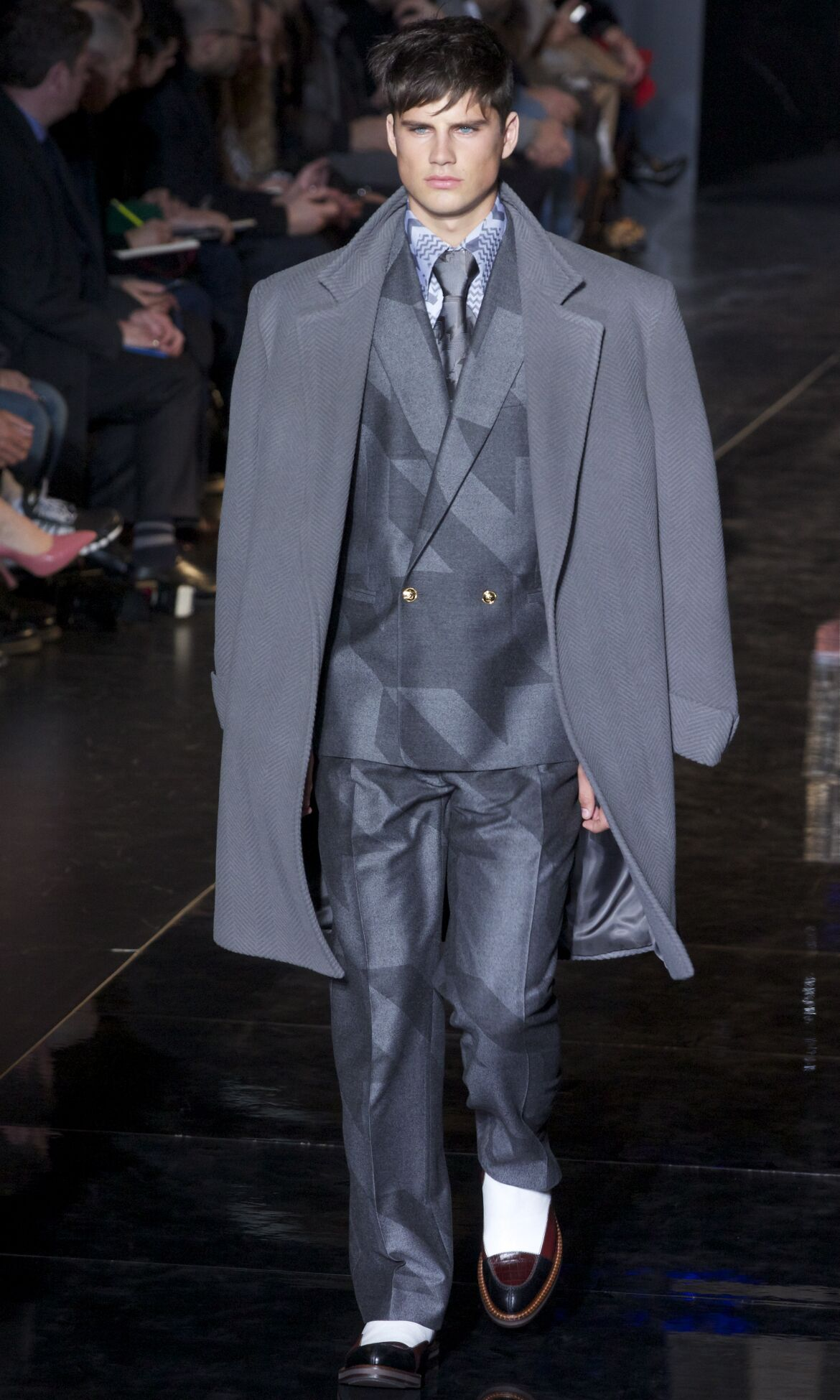 Fall Winter 2013 14 Fashion Men's Collection Versace