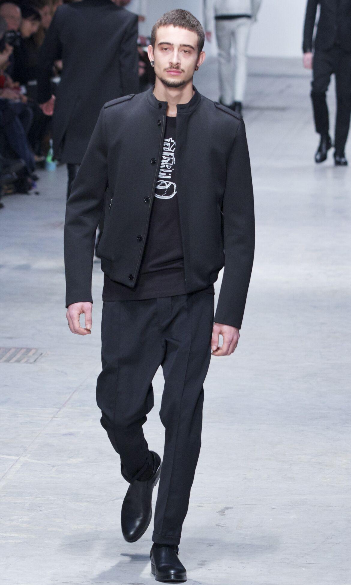 Fashion Man Model Costume National Catwalk