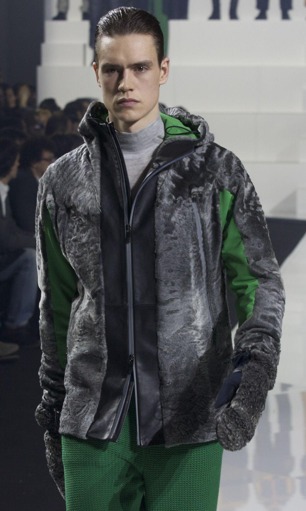 Fashion Man Model Dirk Bikkembergs Catwalk