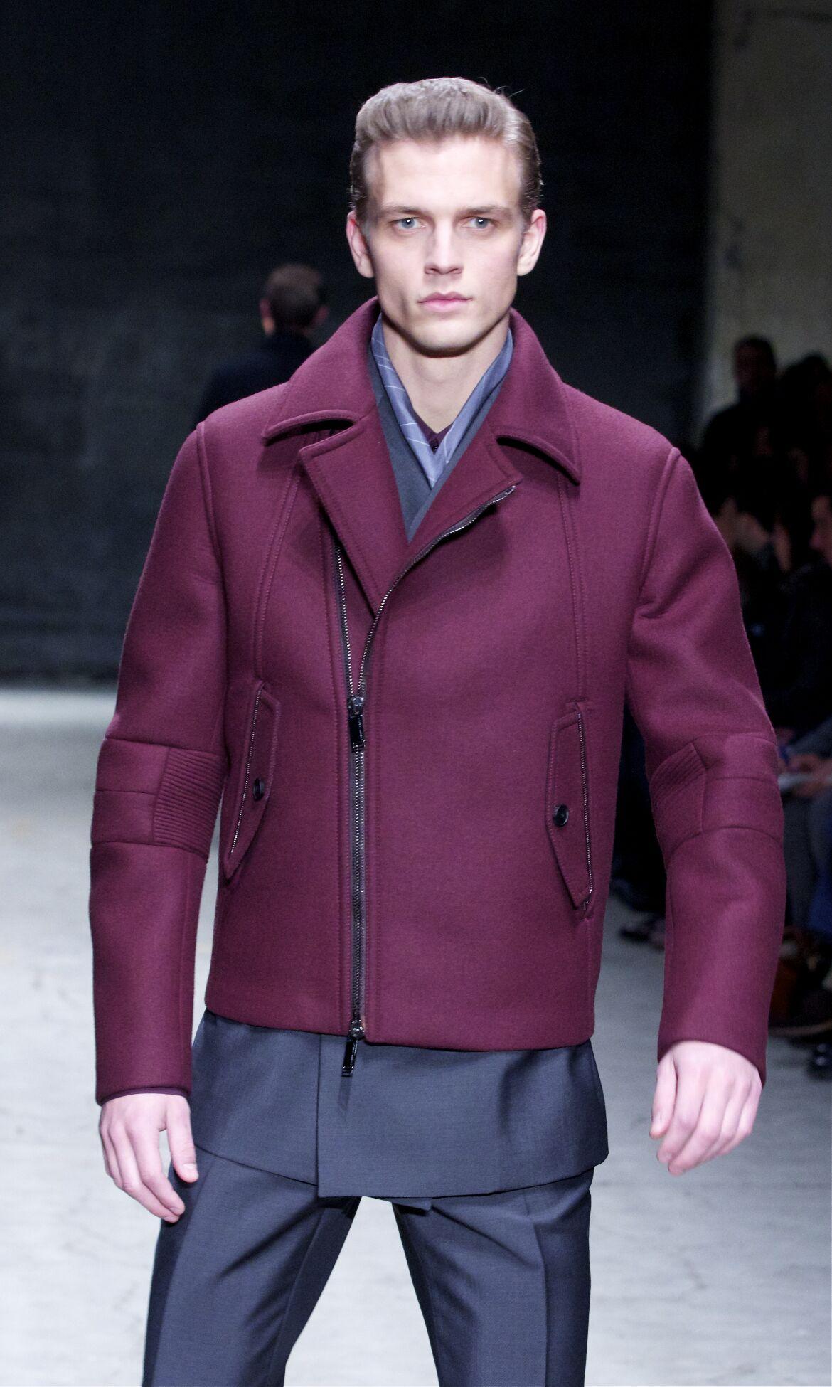 Fashion Man Model Joseph Abboud Catwalk