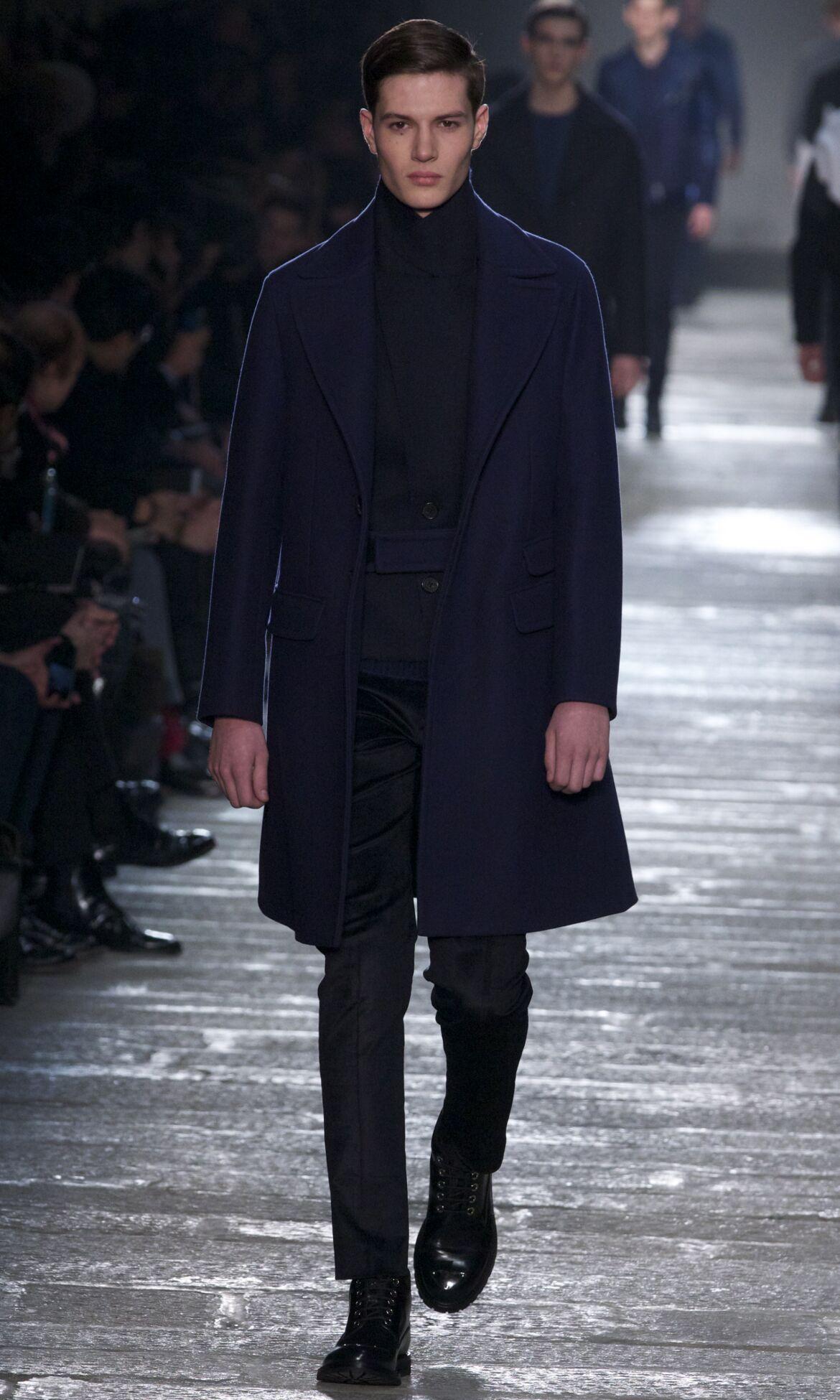 Fashion Man Model Neil Barrett Catwalk