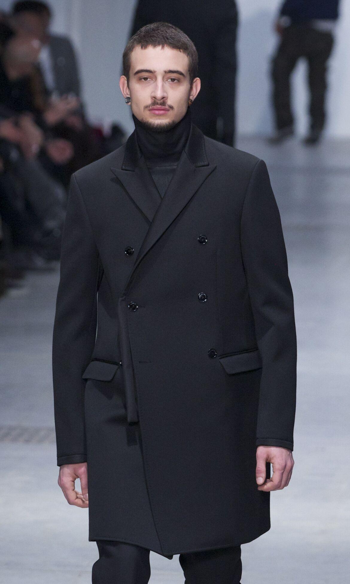 Fashion Man Model Runway