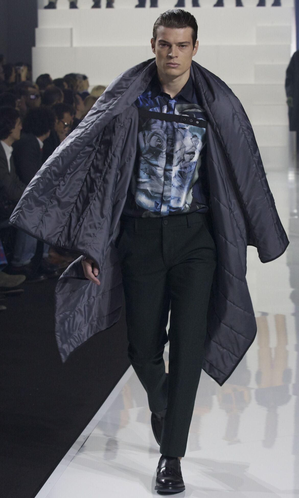 Fashion Model Dirk Bikkembergs Catwalk
