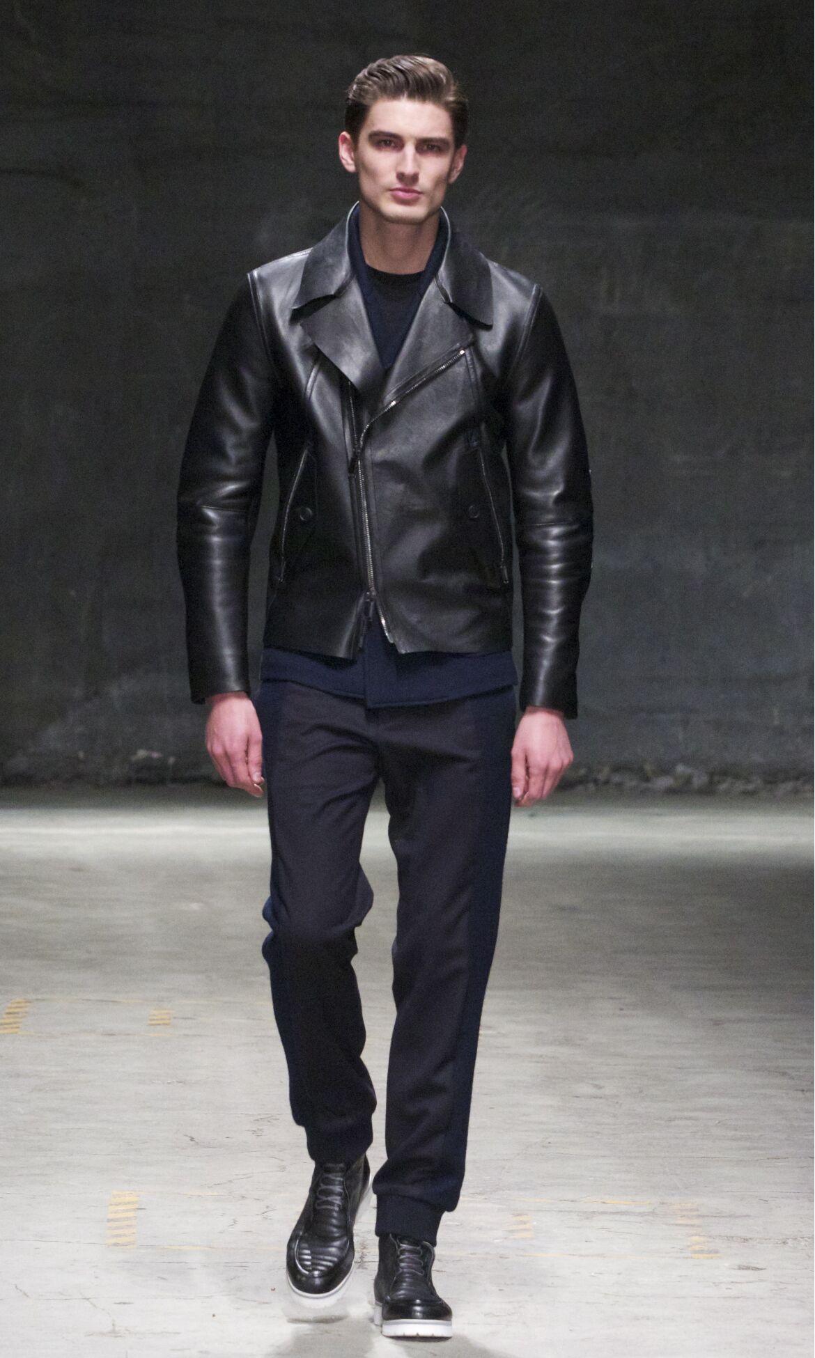 Fashion Model Joseph Abboud Catwalk