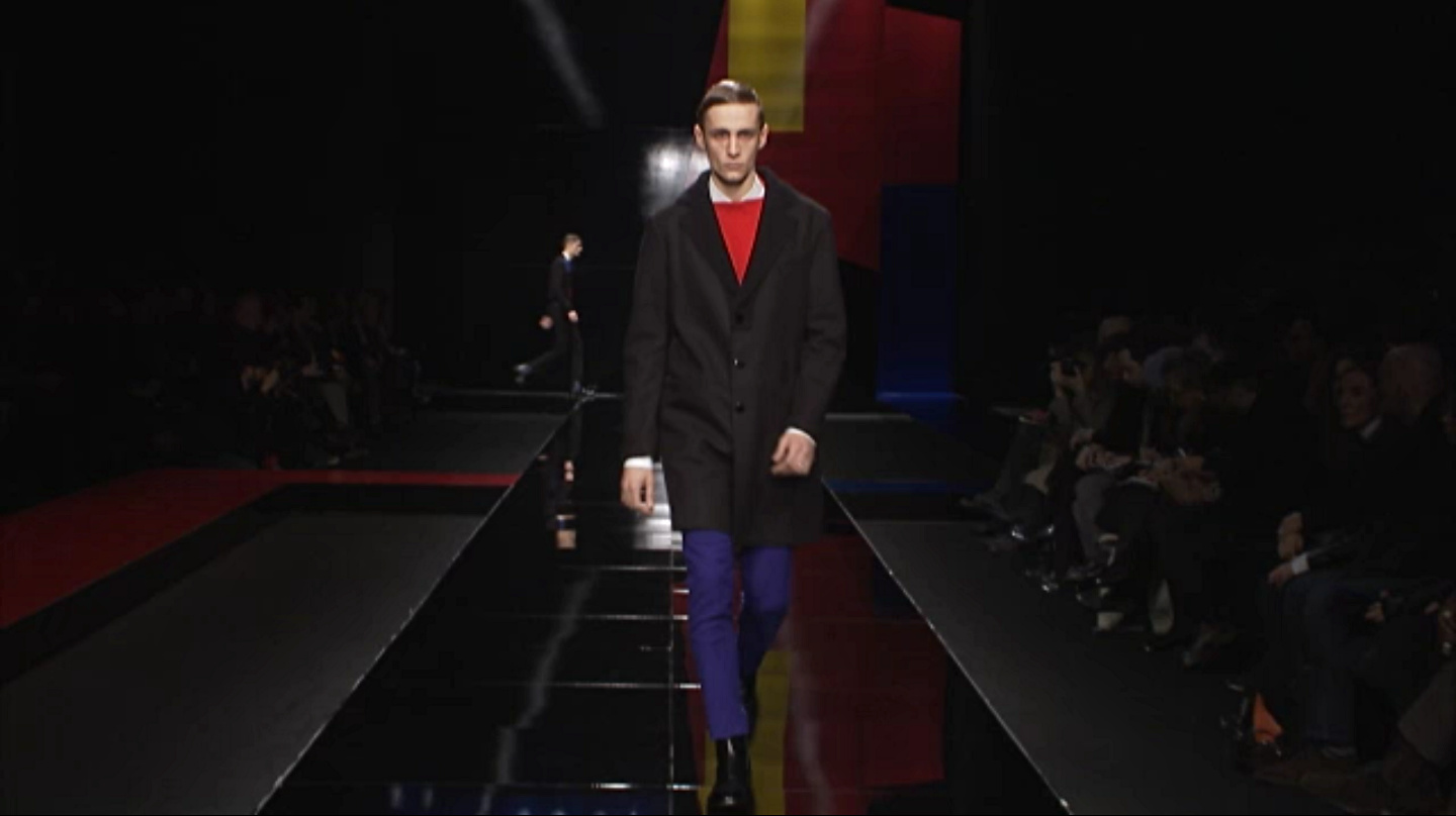 Iceberg Fall Winter 2013-14 Men's Fashion Show - Milan Fashion Week