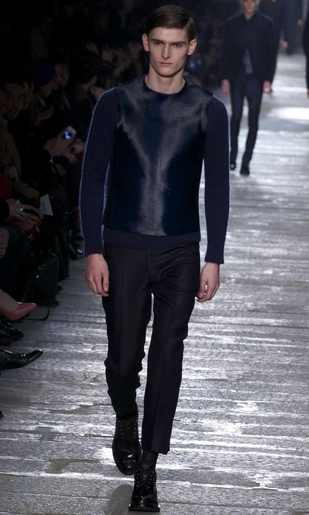 Neil Barrett Fall 2013 Catwalk