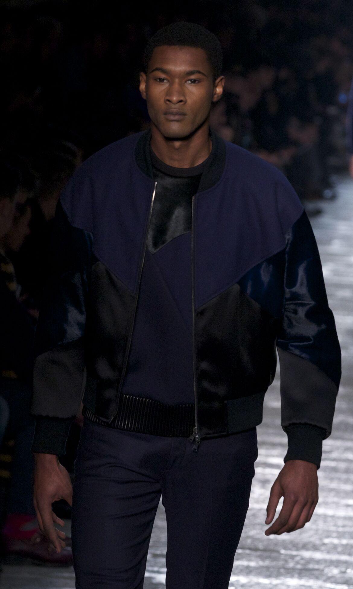 Neil Barrett Fashion Model