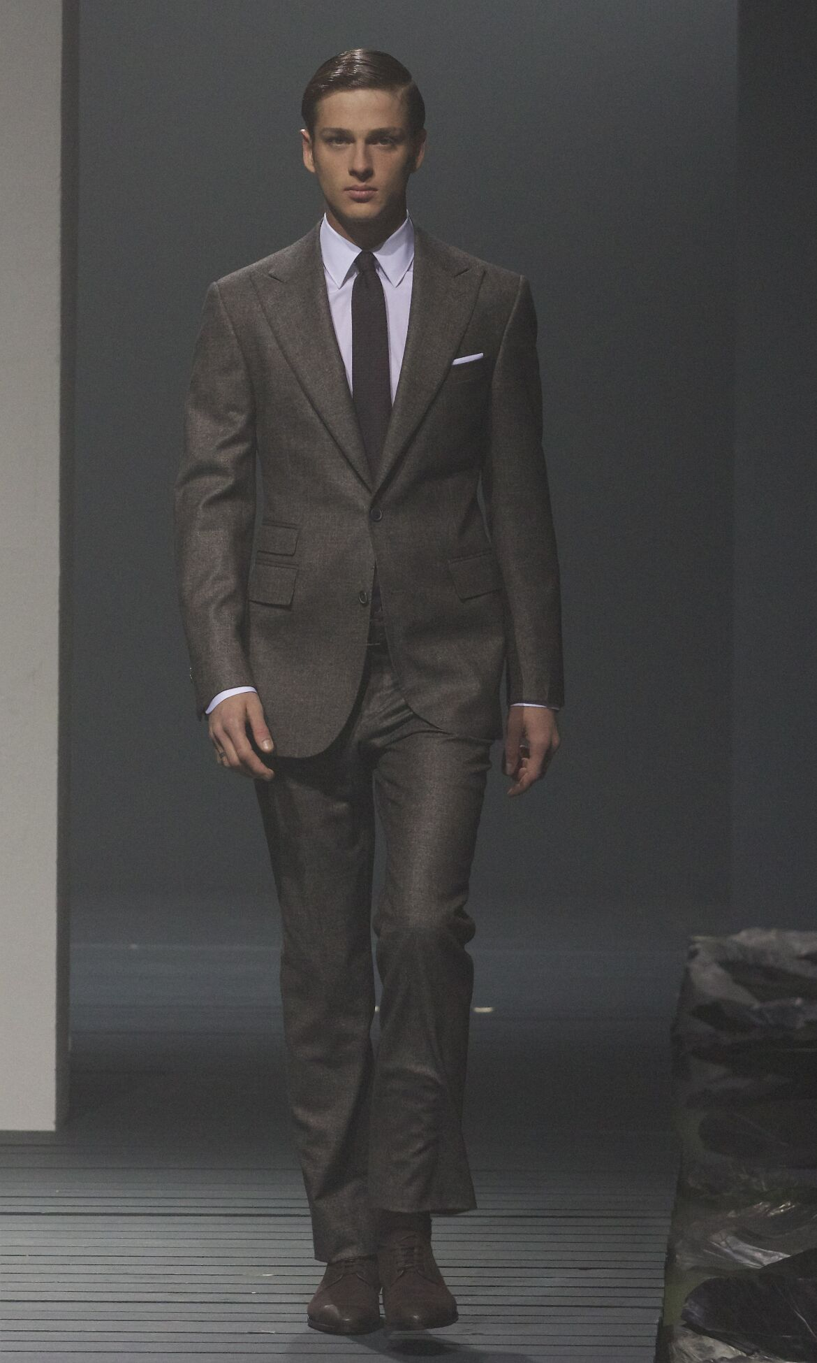 Runway Corneliani Fall Winter 2013 14 Men Collection Milan Fashion Week