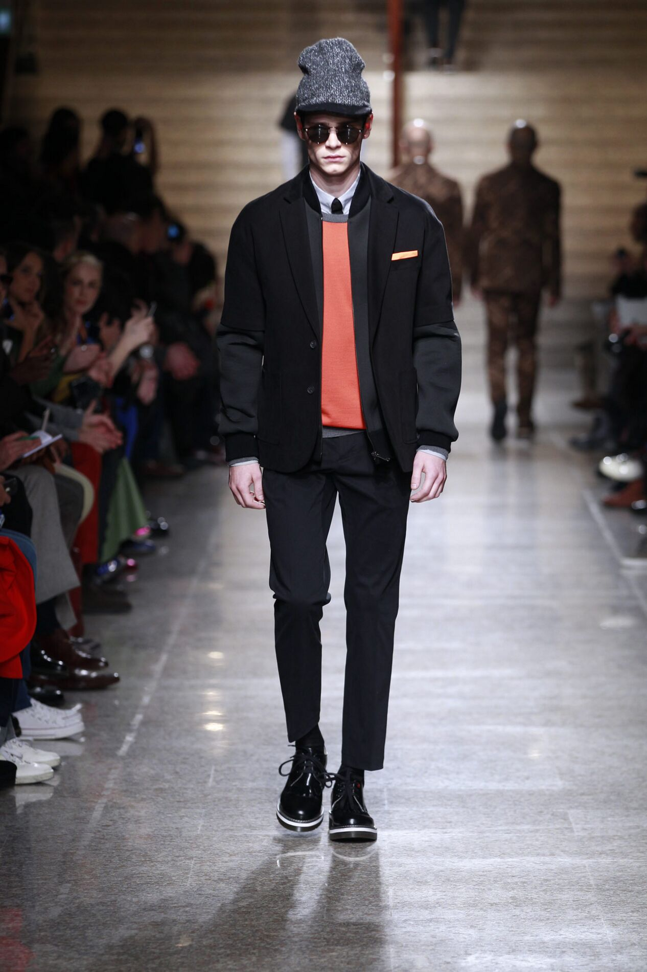 Runway Frankie Morello Fall Winter 2013 14 Men Collection Milan Fashion Week
