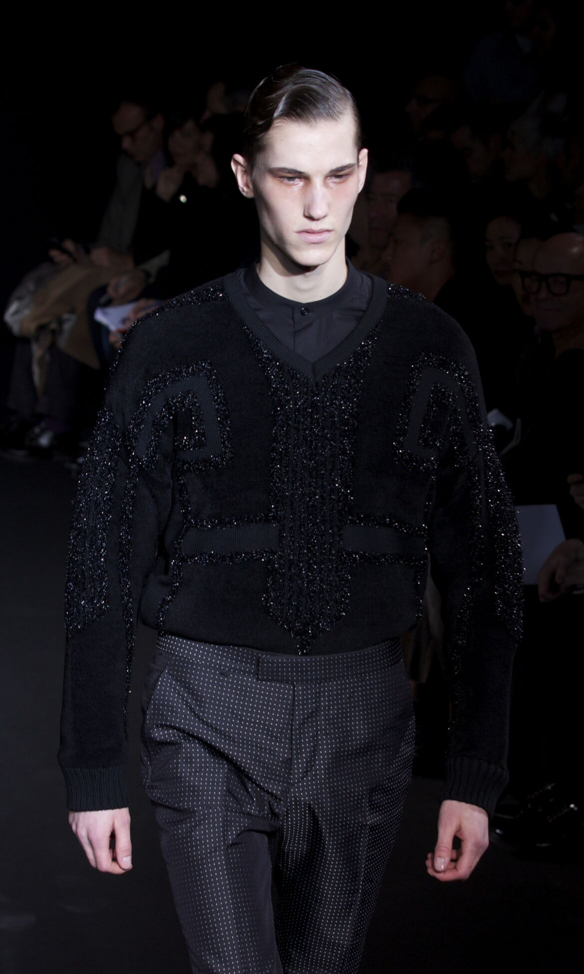 Runway Les Hommes Fall Winter 2013 14 Men Collection Milan Fashion Week