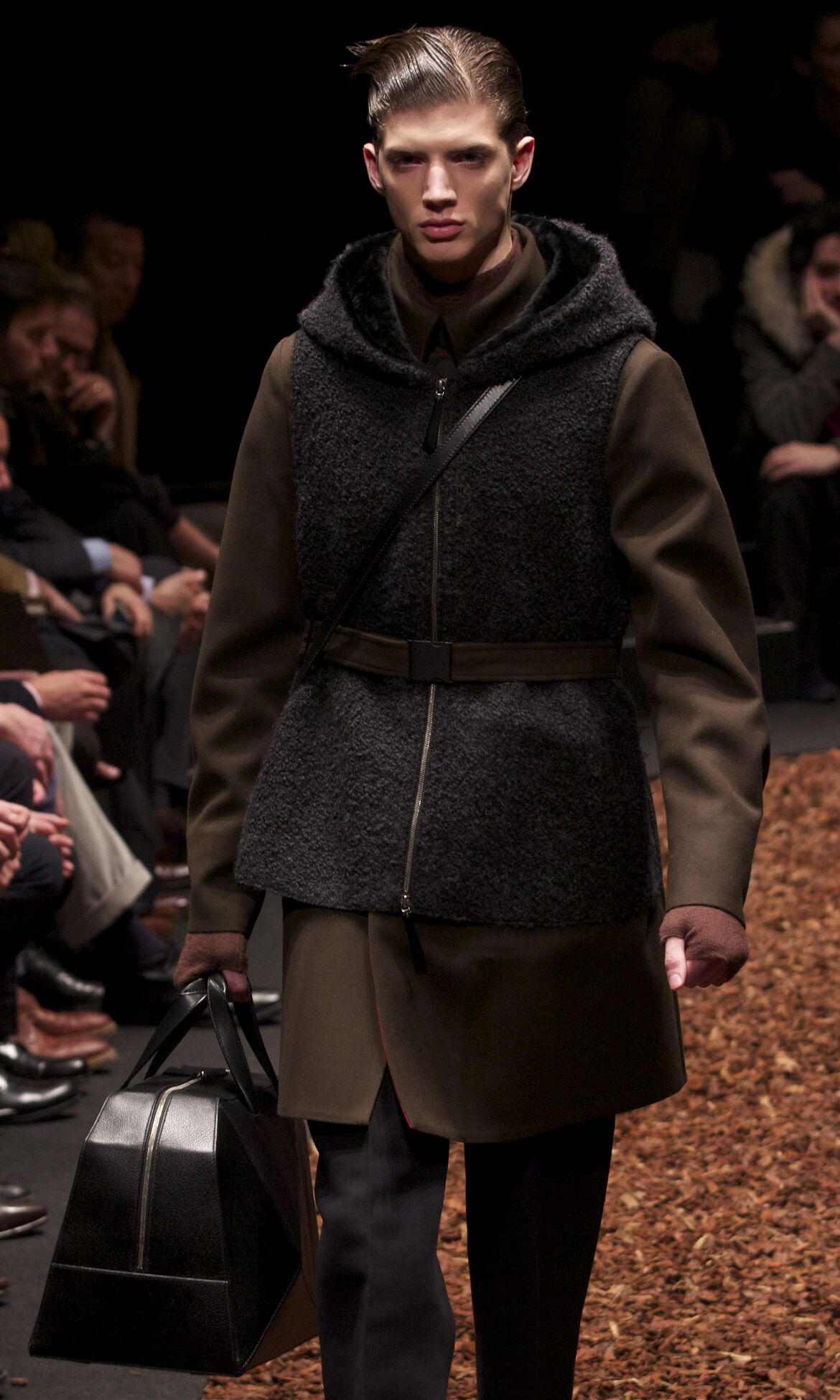 Runway Z Zegna Fall Winter 2013 14 Men Collection Milan Fashion Week