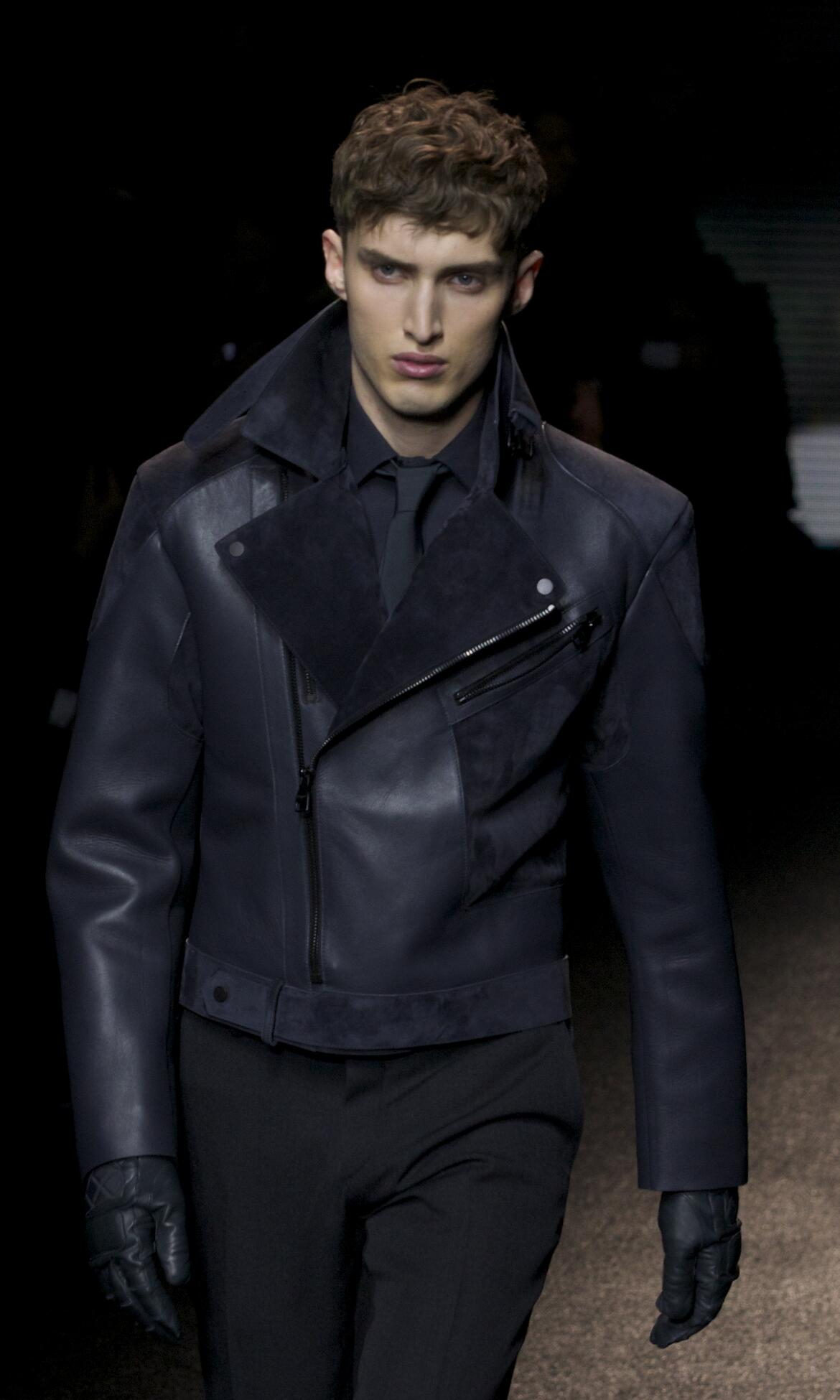 Salvatore Ferragamo Fall Winter 2013 14 Men Collection Milan Fashion Week Fashion Show