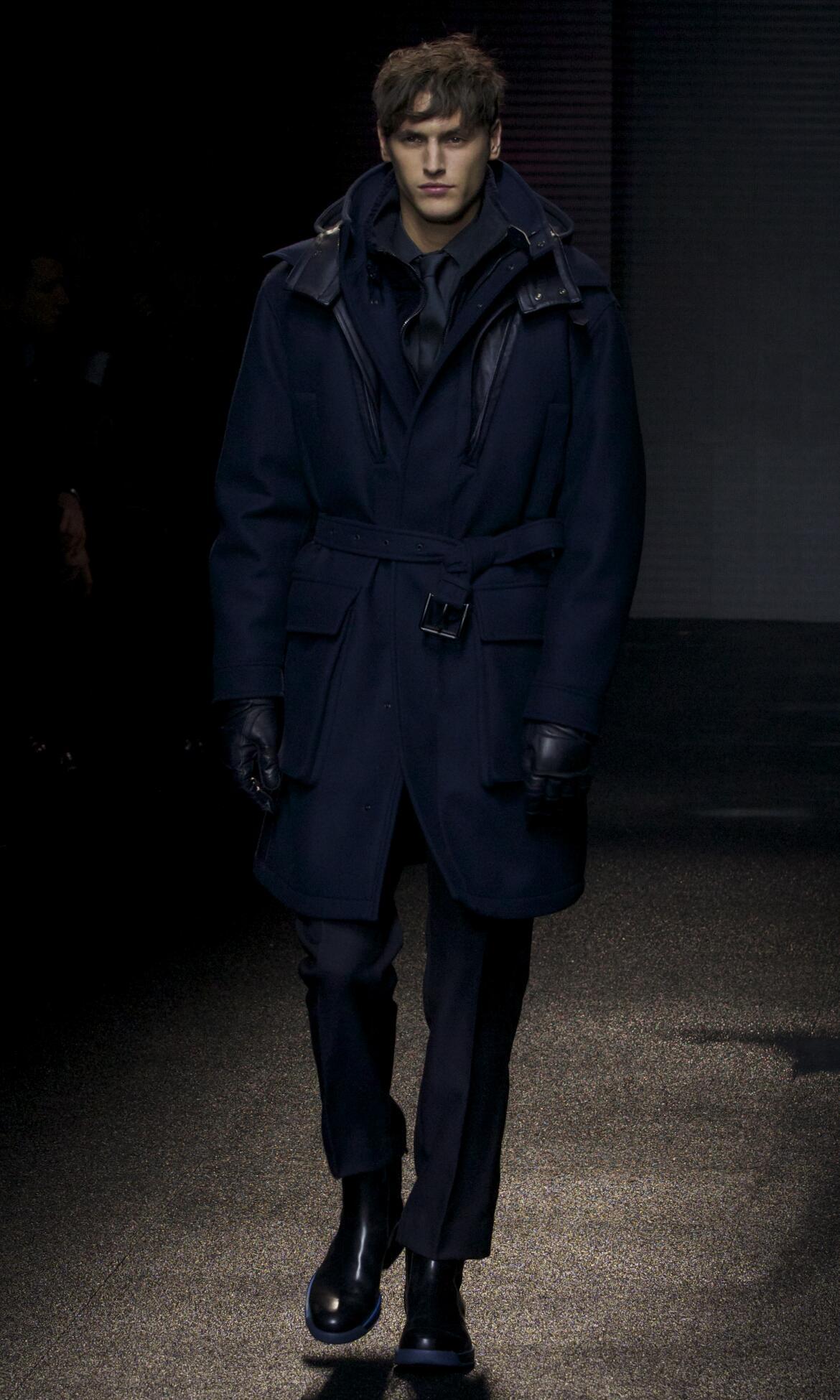 Salvatore Ferragamo Fashion Model