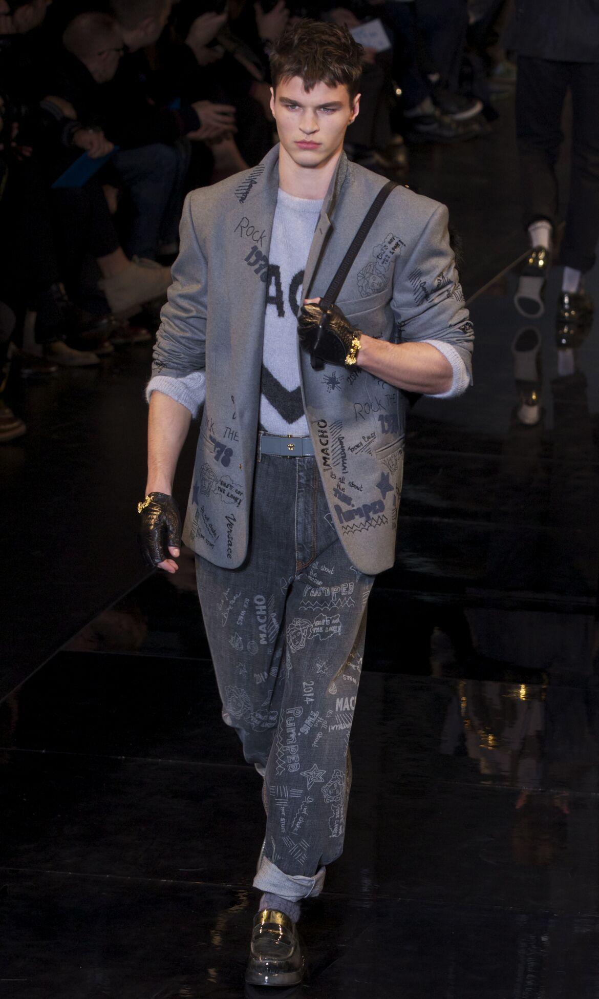 Versace Fashion Show 2013 Milan Fashion Week