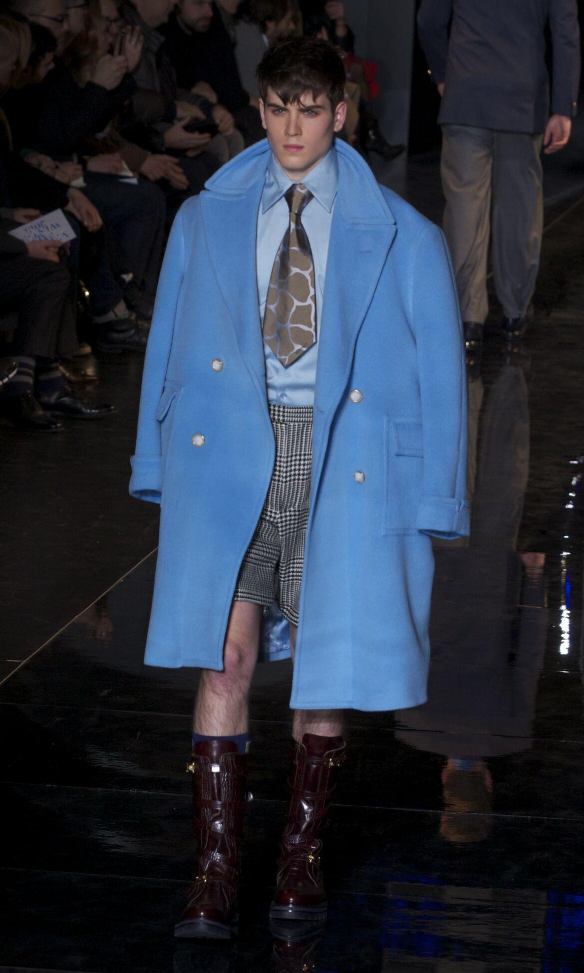 Versace Winter 2013 Catwalk Fashion