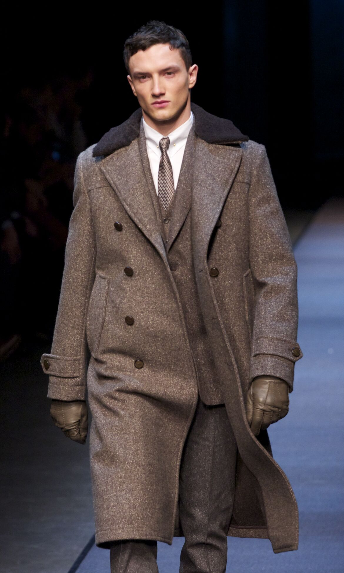 Winter 2013 Fashion Show Canali