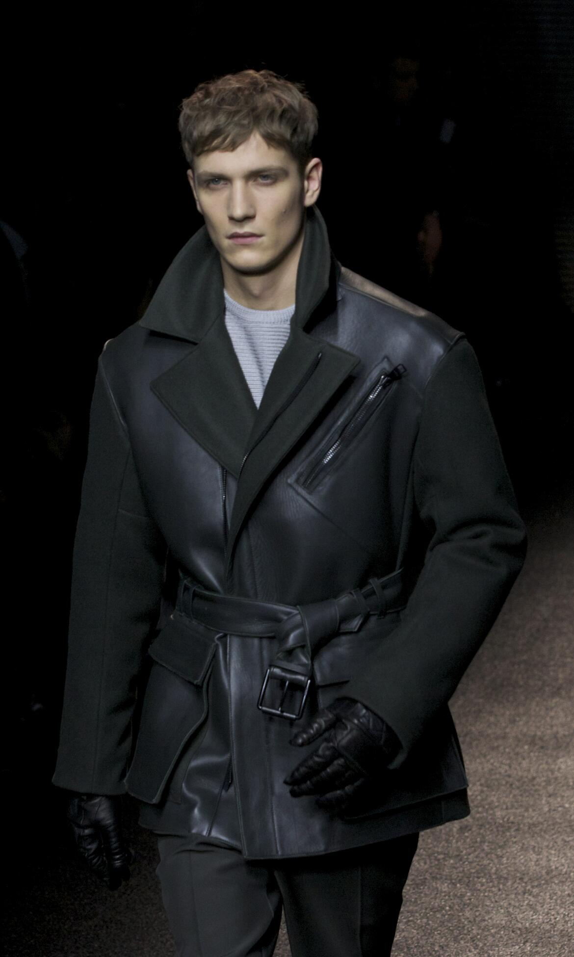Winter Model Trends 2013 Man Salvatore Ferragamo