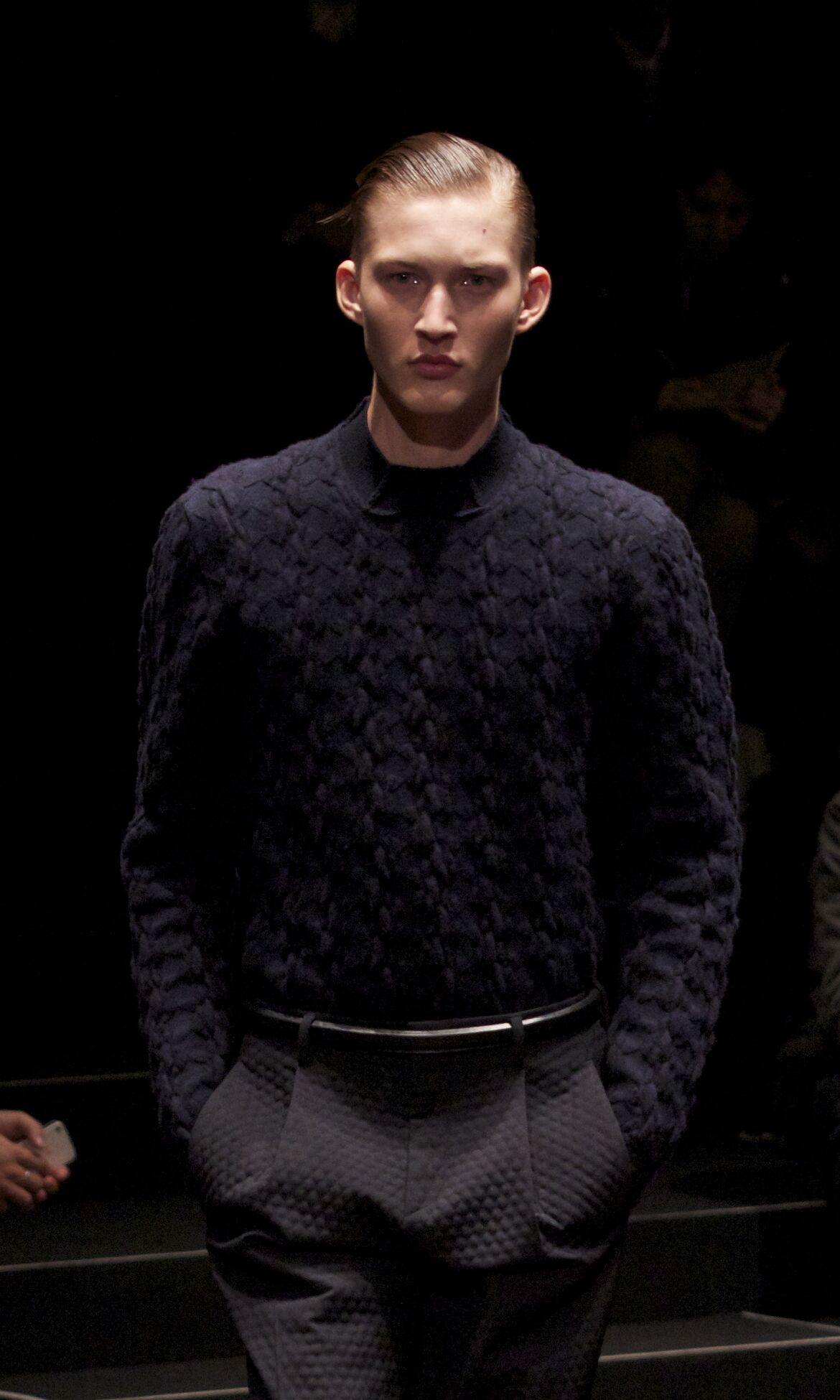 Z Zegna Fashion Model