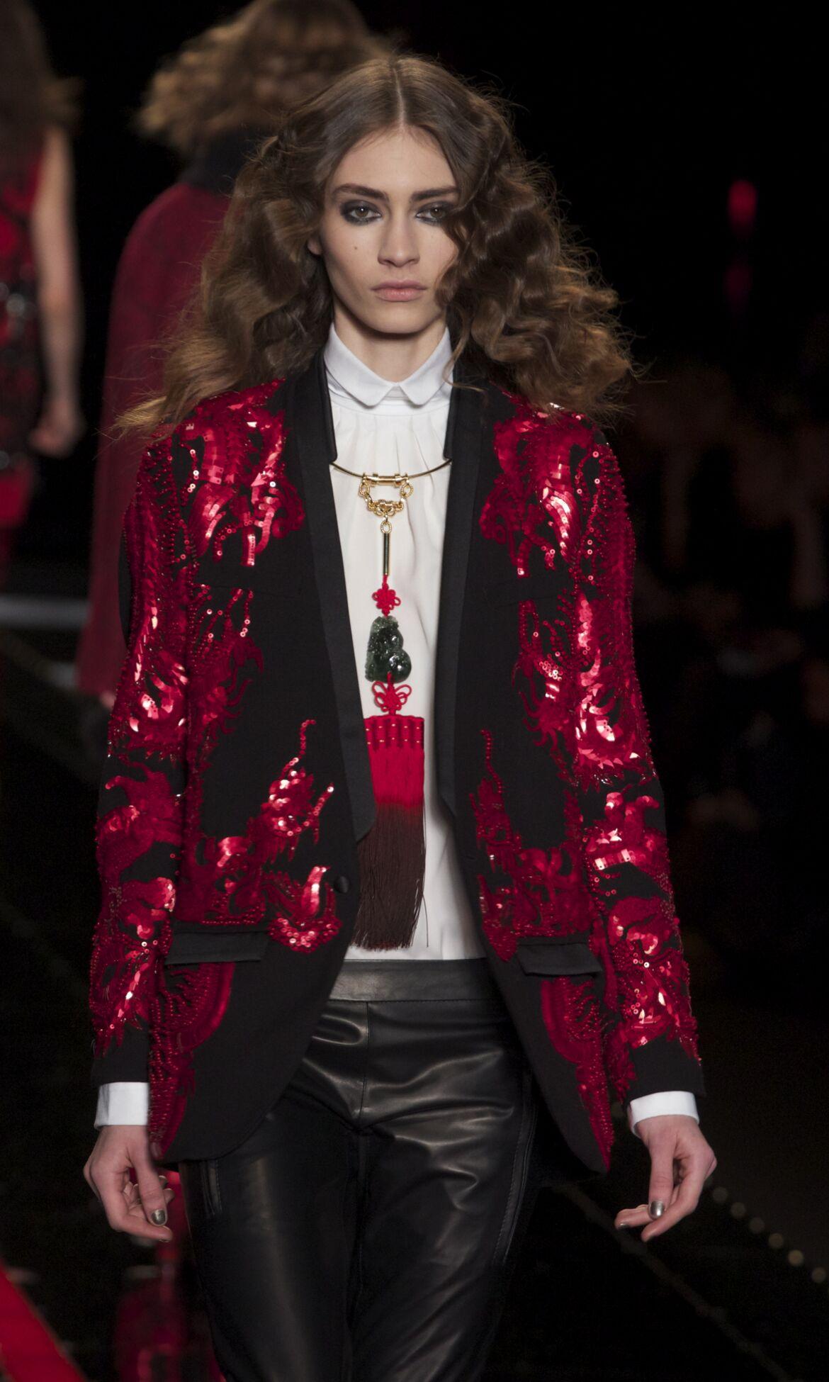 2013 Catwalk Just Cavalli Fashion Show Winter Womenswear