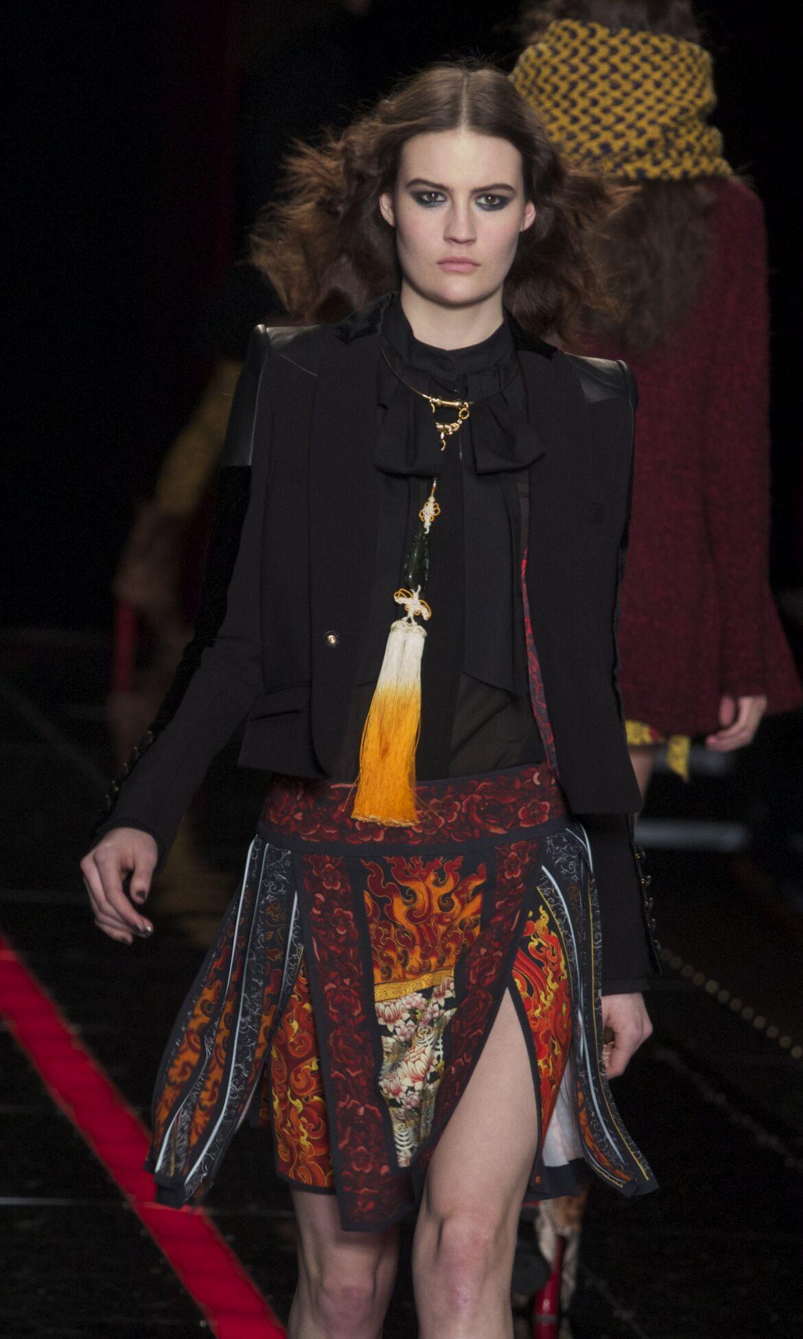 2013 Winter Model Trends Woman Just Cavalli