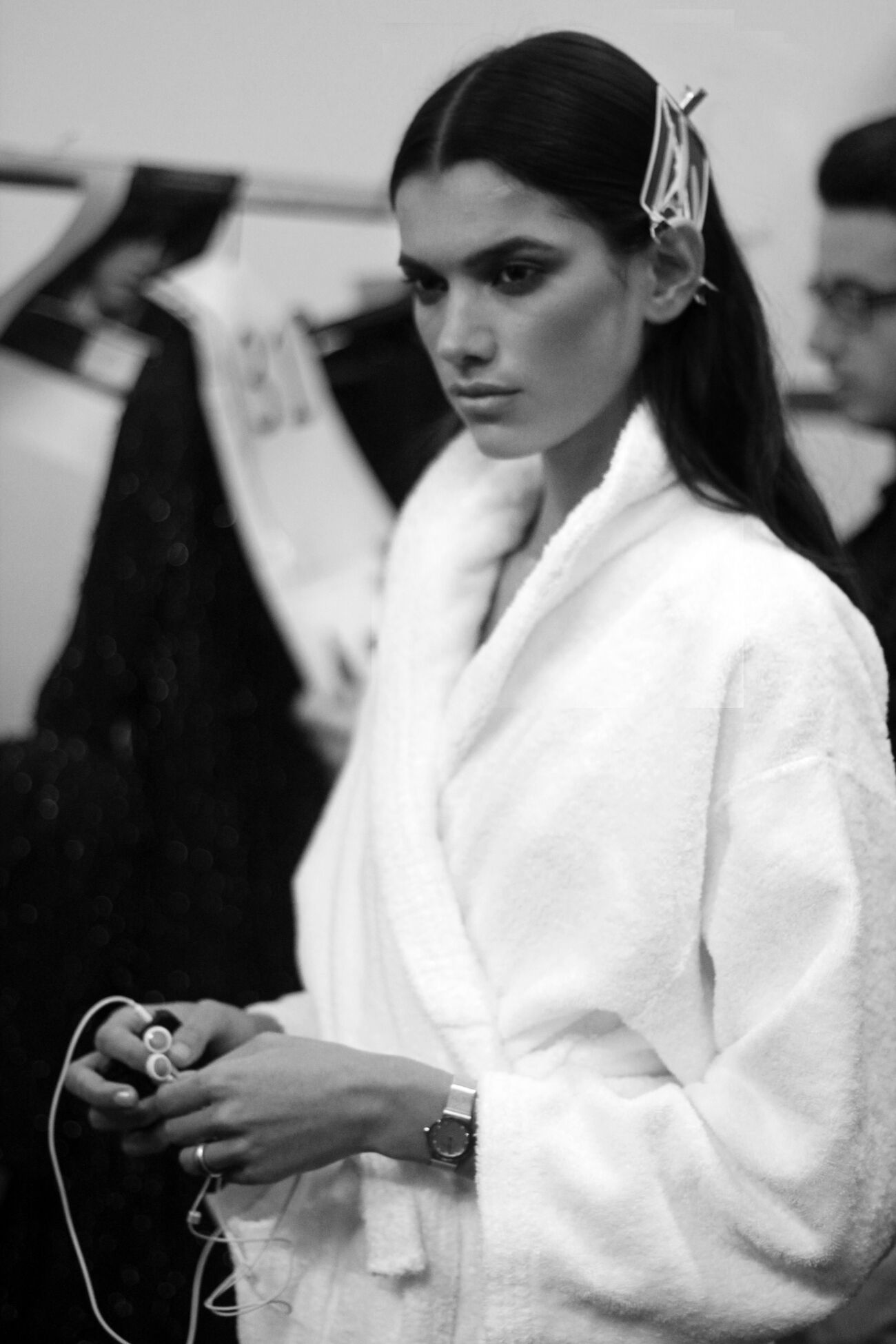 Backstage Mila Schön Woman Milano Fashion Week
