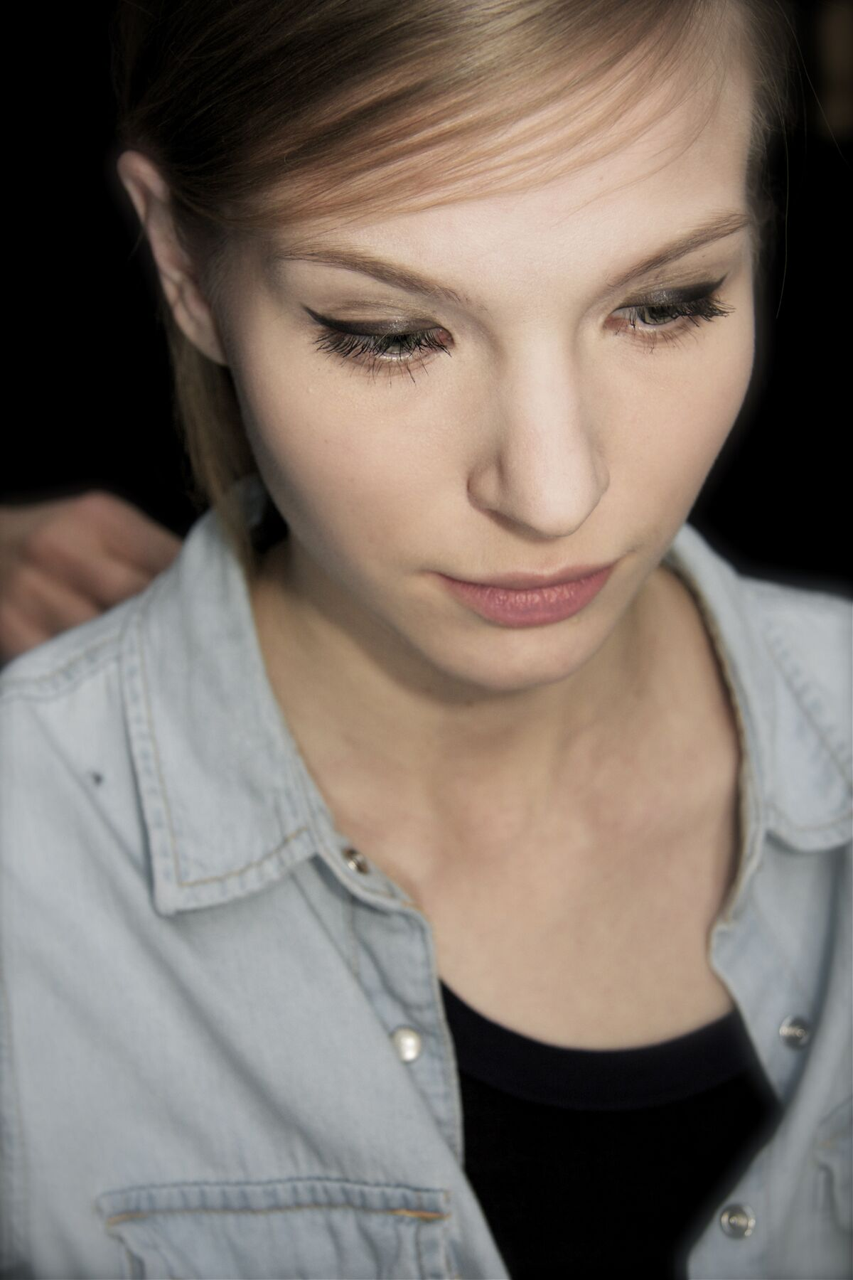 Backstage N°21 Fall Winter 2013 14 Womens Collection Milano Fashion Week