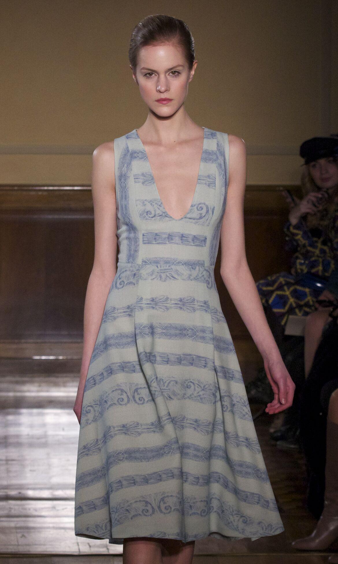 Catwalk Andrea Incontri Fashion Show Winter 2013