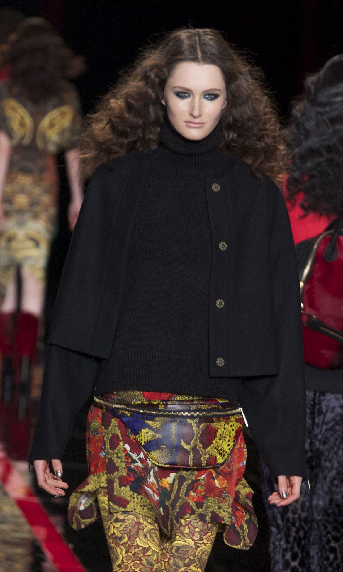 Catwalk Just Cavalli Fashion Show Winter 2013 Womenswear