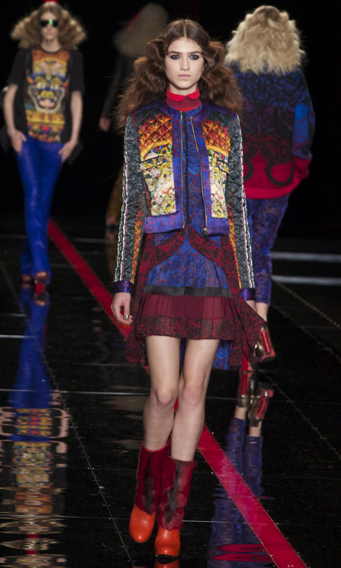 Catwalk Just Cavalli Fashion Show Winter 2013