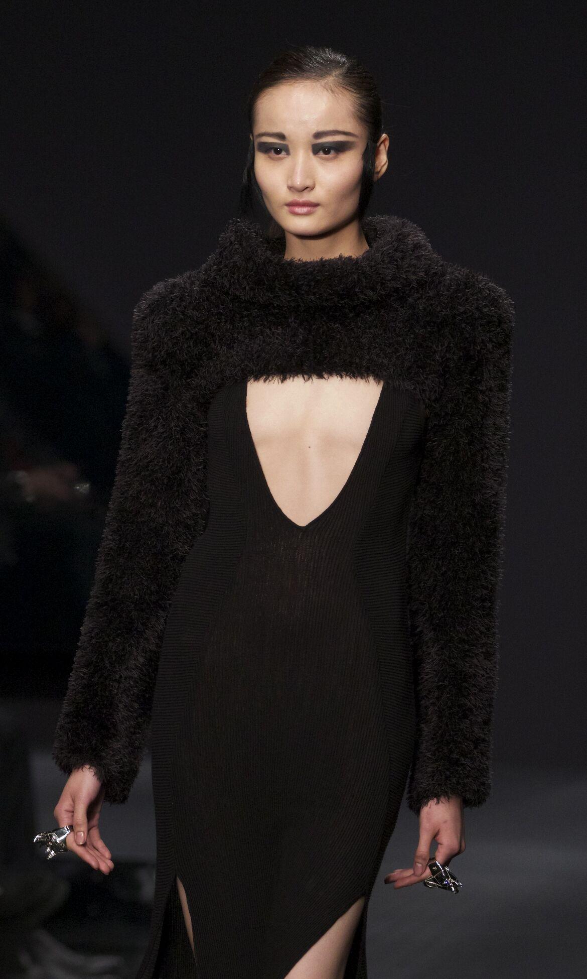 Catwalk Krizia Fashion Show Winter 2013 Womenswear