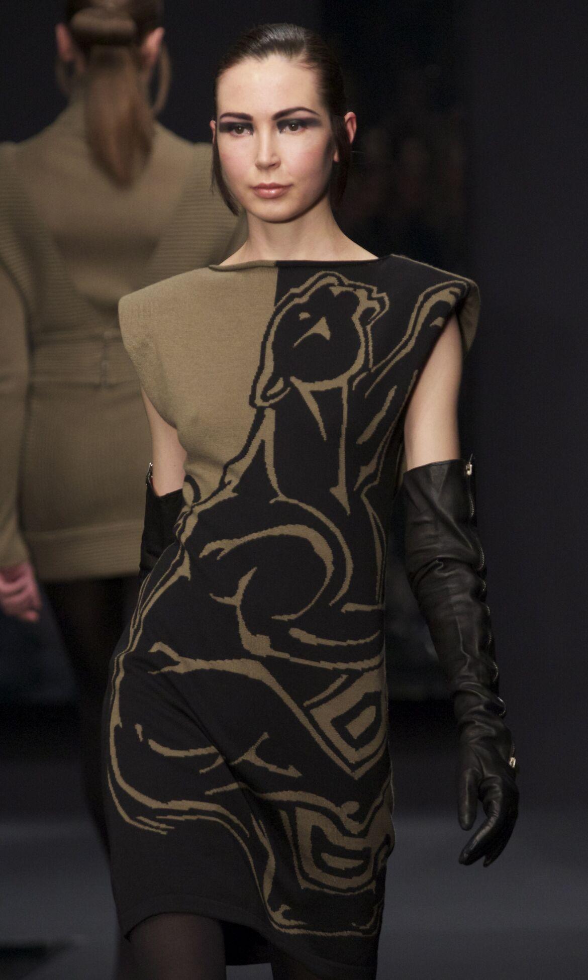 Catwalk Krizia Fashion Show Winter 2013