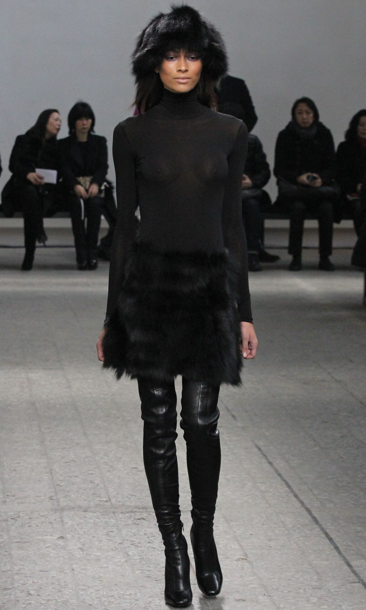 Catwalk Mila Schön Winter 2013