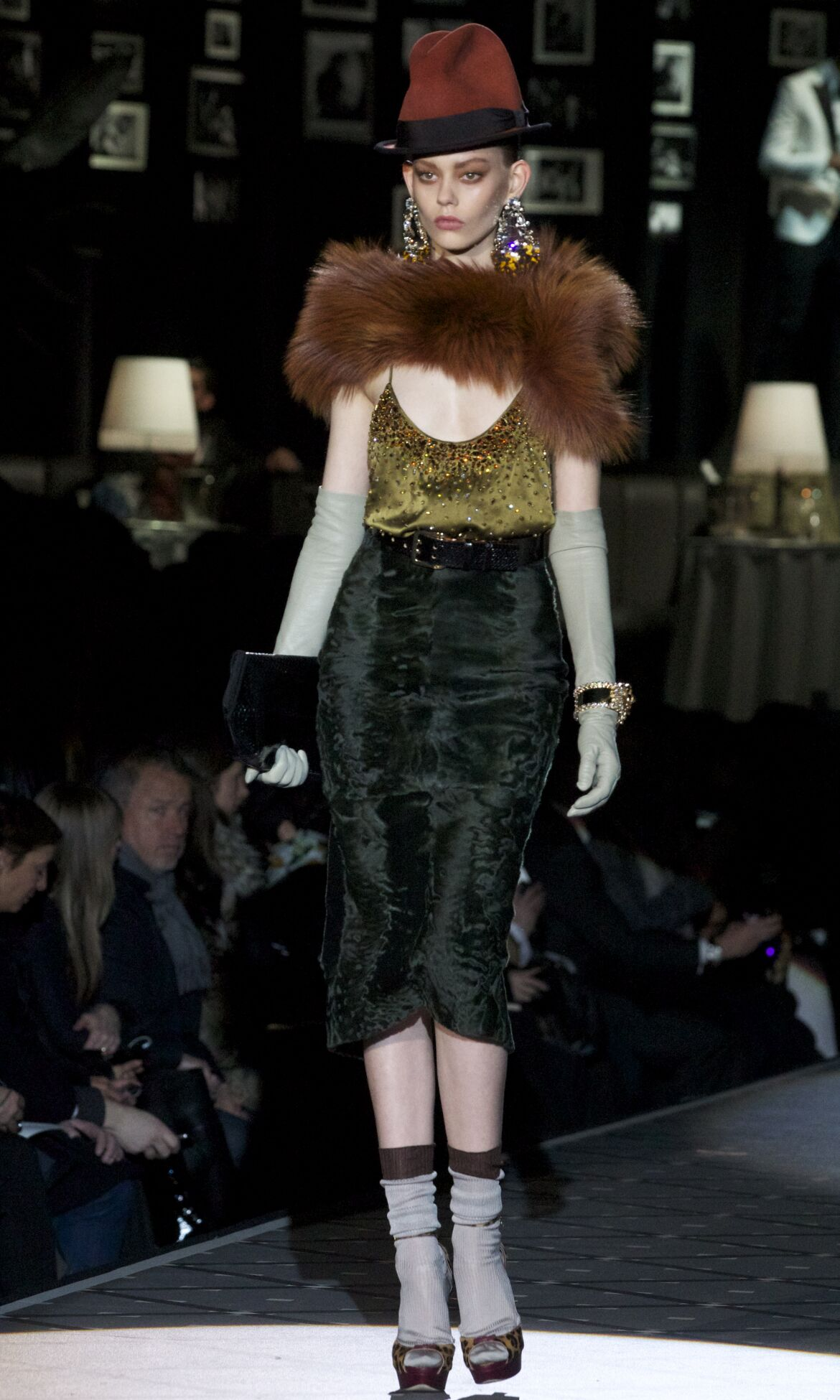 Fall 2014 Women Fashion Show Dsquared2