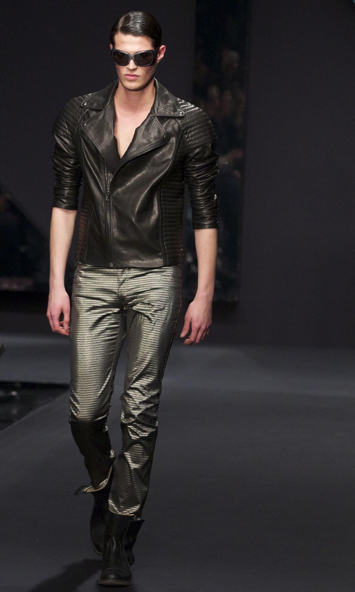 Fashion Man Model Krizia Catwalk