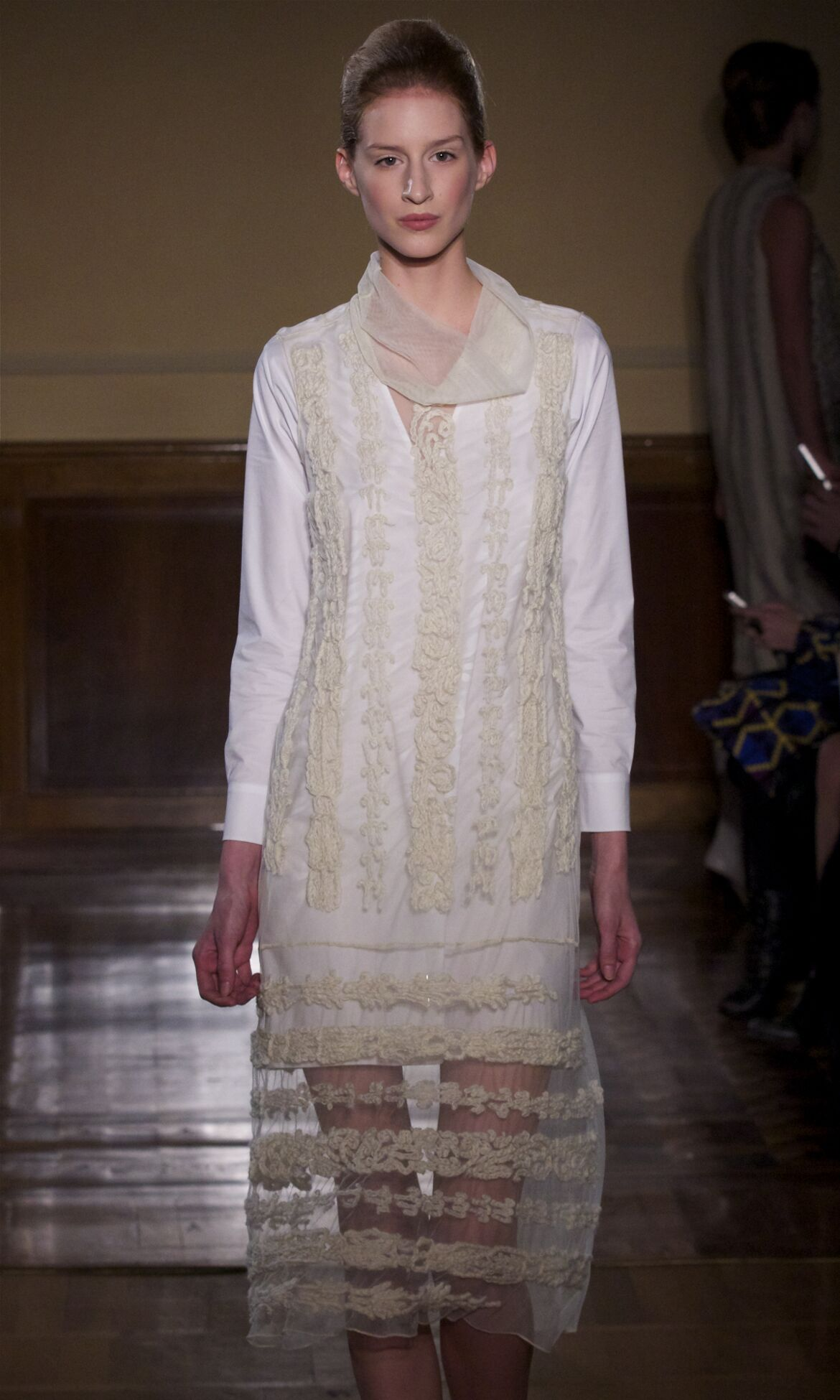 Fashion Model Andrea Incontri Catwalk