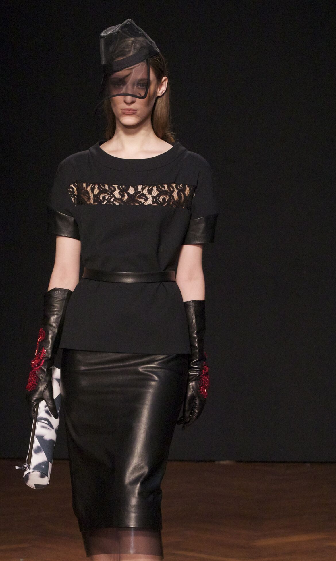 Frankie Morello Fall 2013 Catwalk