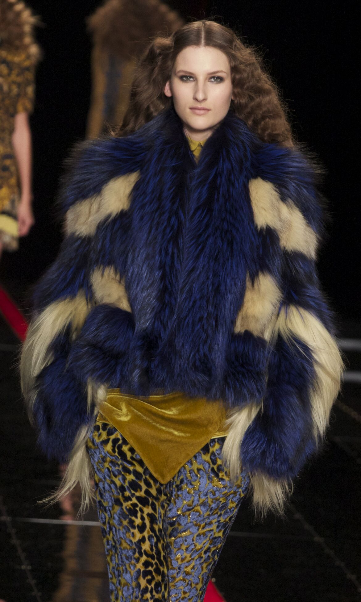 Just Cavalli Fall 2013 Catwalk