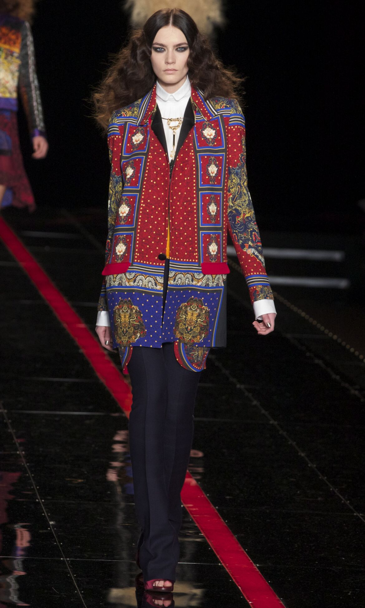 Just Cavalli Winter 2013 Catwalk