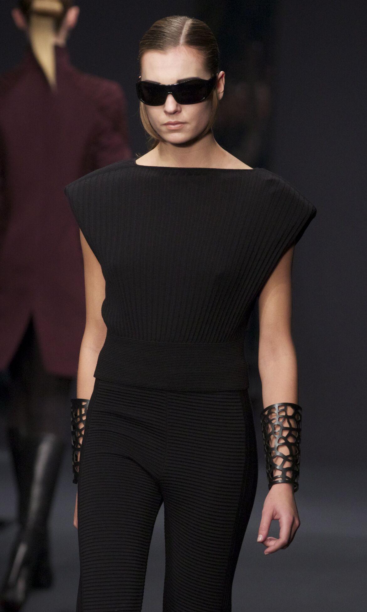 Krizia Fall Winter 2013 14 Women Collection Milan Fashion Week Fashion Show