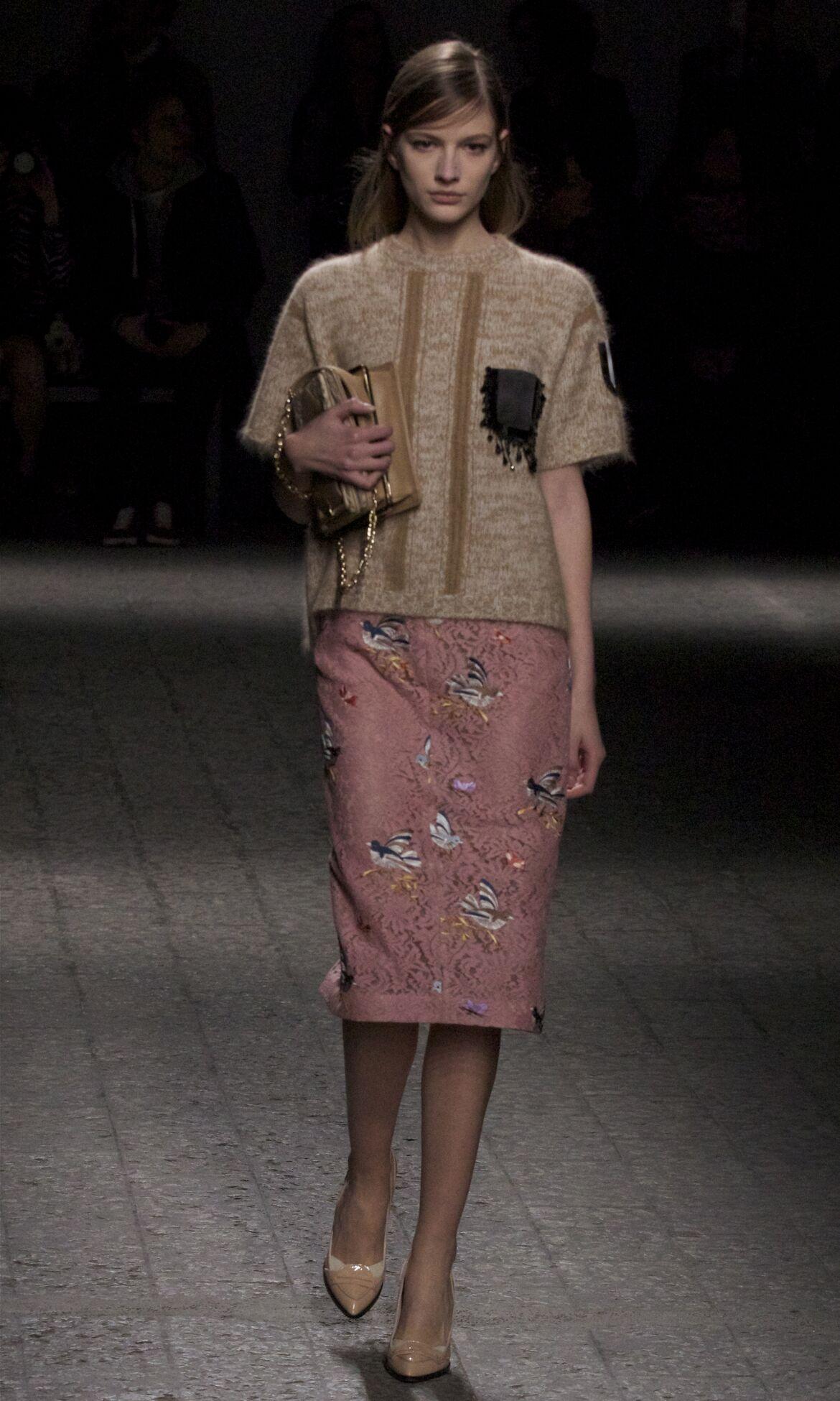 N°21 Fall Winter 2013 14 Women Collection Milan Fashion Week Fashion Show