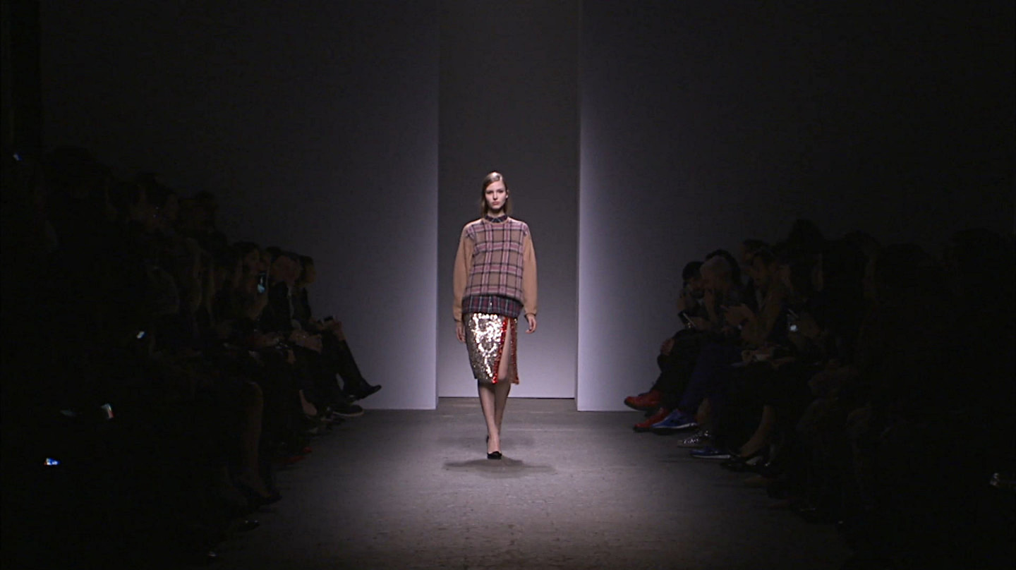 N°21 Fall Winter 2013-14 Women's Fashion Show - Milan Fashion Week