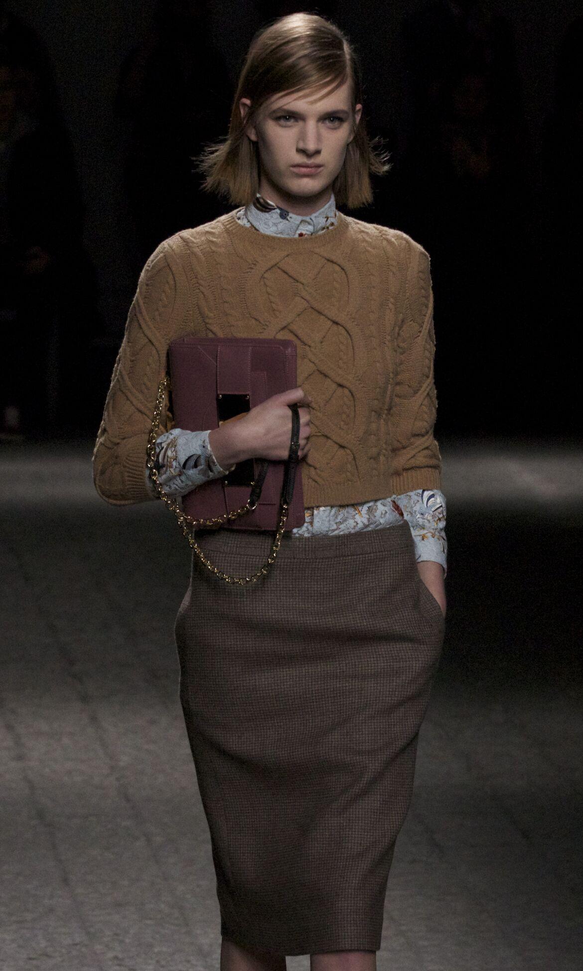 Runway N°21 Fall Winter 2013 14 Women Collection Milan Fashion Week