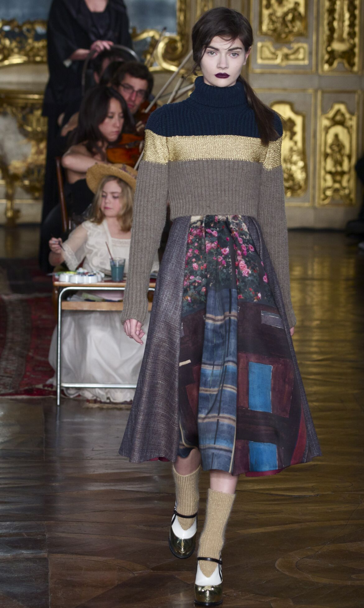 Catwalk Antonio Marras Fall Winter 2013 14 Women Collection Milan Fashion Week